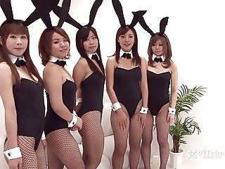 Japanese Bunny Orgy (Uncensored JAV)