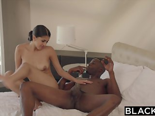 BLACKED Sexy Model Sophia Leone Gets First BBC