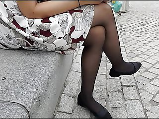 Candid Sheer Black Pantyhose