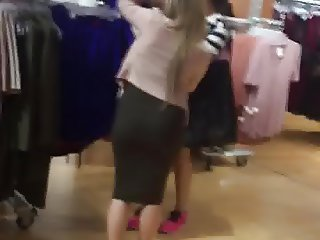 Spanish Tight skirt no panties