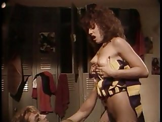 Sexy Retro Redhead Cheerleader Fucks The Quarterback