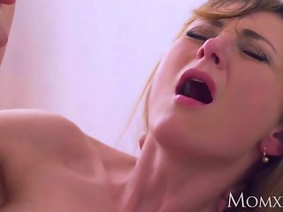 MOM Intense romance for hot blonde mom