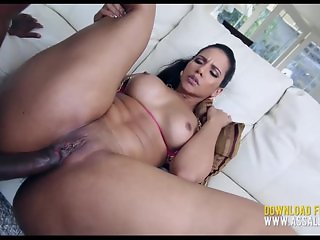 Thick Latina Tries Anal With Huge Black Dick