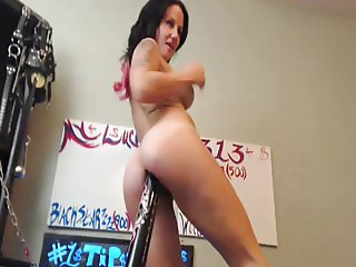 Amateur wife shows us her hole and how it is used