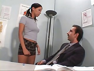 Teacher sodomising student's asshole