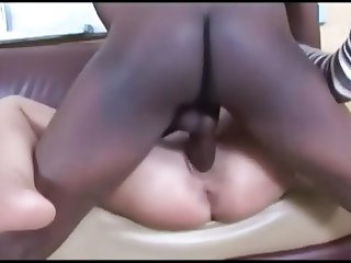 Sexy phat ass blonde babe with meaty cunt rides BBC