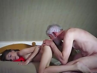 old and young fuck