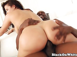 Seductive BBC lovers tight ass stretched out