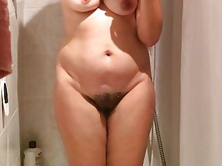 Spy & share sexy naked wife with hidden cam