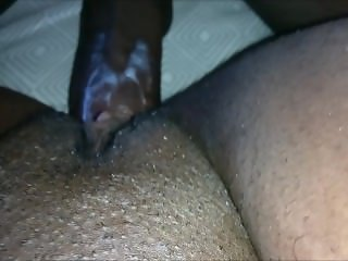 CREAMY SQUIRTING EBONY BABE POUNDED BY HER HUSBAND