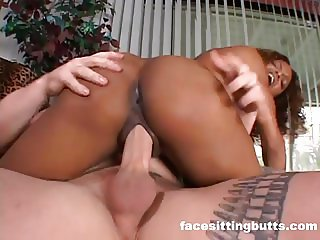 Stud tests his mail order wild black sex slave
