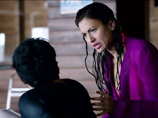 Gauhar Khan Mindblowing Hottest Ever in 2 Piece Bikini Hot Boobs - Fever