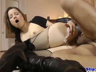 Glam eurobabe assfucked by british geriatric
