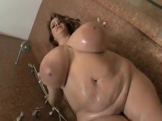 Huge Titties Shower