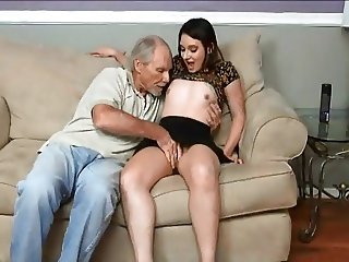 STP1 Sexy Teen Fucks uncle Till daddy Comes Home !