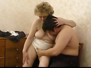 Russian Granny And Boy..the Making Of