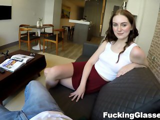 Fucking Glasses - Maia loves sucking dick