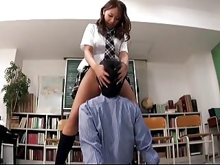 asian schoolgirl dominate - 2