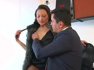 Santa Latina - Kinky Colombian sex at the office with horny Latina Maita
