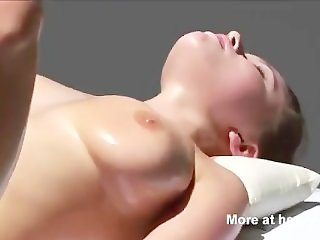 Girl Has Multiple Orgasm During Massage