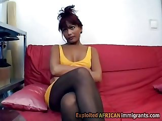 Pantyhose immigrant works as secretary