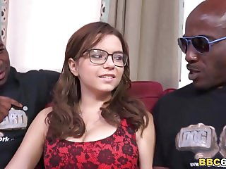 Anal Whore Marina Visconti Gets DPd by Black Cocks