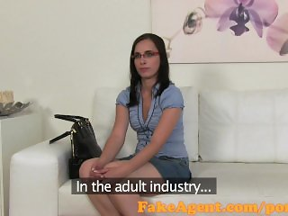 FakeAgent Sexy student is looking for excitement in Casting interview