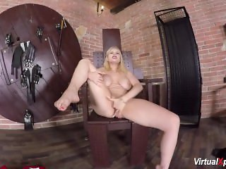 Angel Wicky shows her big boobs