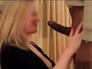 White woman with BBC