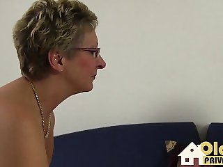 Mature and Milf with the guy