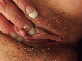 Working her pretty clit