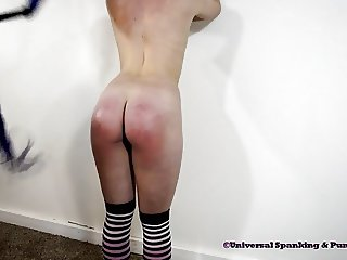 Hailey's Therapy Spanking