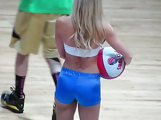 CHEERLEADER TIGHT LITTLE SHORTS