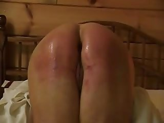 ass whipping and orgasm
