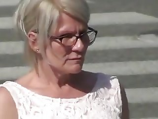 Finnish mature woman flash