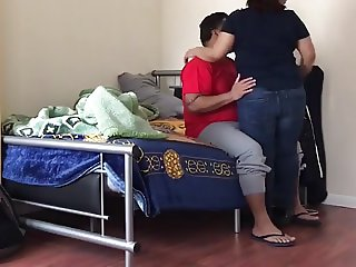 Neighbour Flat Aunty Fucked and recorded with hidden Cam