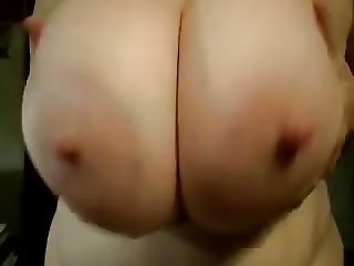 Funbags sexy huge saggy round bongo boobs