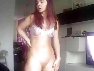 IP cam sexy dancing girl