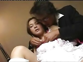 Hairy Cunt Japanese Teen Gets Groped & Fucked By Uncle