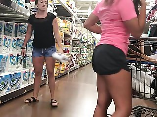 Tanned Lesbo Wedgie Whooty