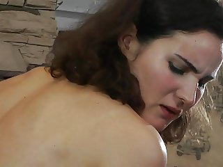 Slave girl whipped and waxed for the pleasure of her Master.