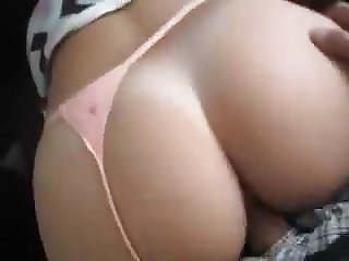 Young big-ass BBC-loving babe DT, Doggy, Facial