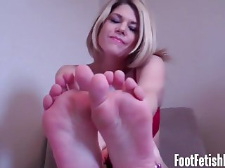 I notice how my feet get you all hard