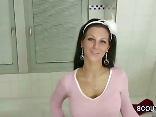 German Step-Sister Give Him a perfect Handjob in SexTape