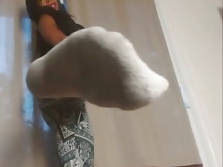 Dirty Socks for my Dirty Foot Worship slave