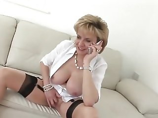 Lady Sonia Having Phone Sex And Orgasm