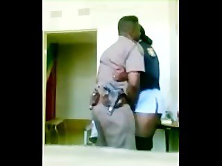 Married Cop submits willingly