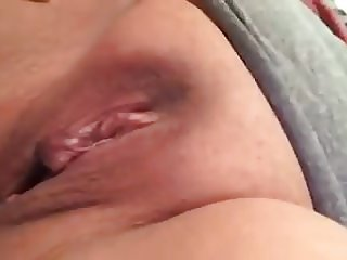 Asian Using Brush In Pussy