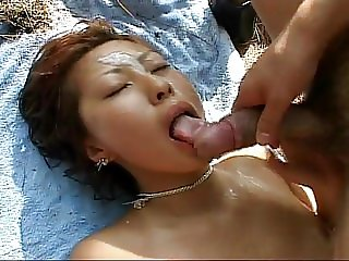 Japanese orgy in the island 1-4th