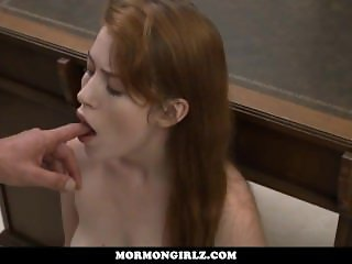 MormonGirlz-- Groped and Inspected At Church By Older Voyeur
